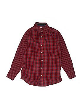 Arizona Jean Company Long Sleeve Button-Down Shirt Size 10 - 12