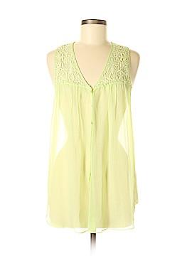 Calypso St. Barth Sleeveless Silk Top Size M
