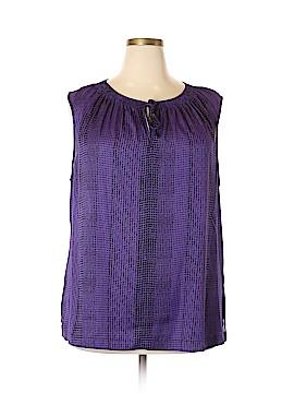 Liz Claiborne Short Sleeve Blouse Size 2X (Plus)