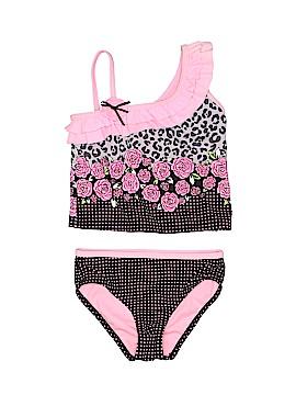 Hula Star Two Piece Swimsuit Size 5