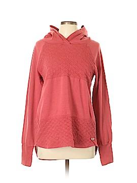 Pink Lotus Pullover Hoodie Size L