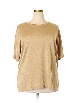 Villager Sport by Liz Claiborne Short Sleeve Top Size 3X (Plus)