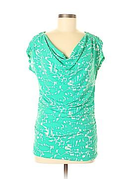 New York & Company Short Sleeve Top Size M
