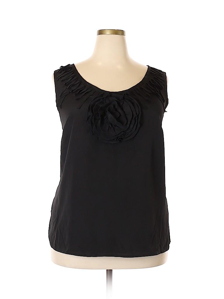 Avenue Studio Women Sleeveless Blouse Size 18 - 20 (Plus)