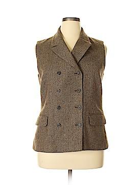 Laura Ashley Tuxedo Vest Size 12