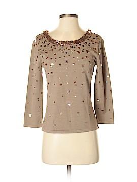 Talbots 3/4 Sleeve Silk Top Size S