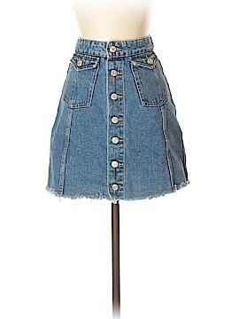 Zara TRF Denim Skirt Size S