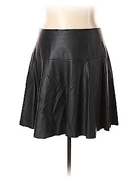 City Chic Faux Leather Skirt Size 20 Plus (L) (Plus)