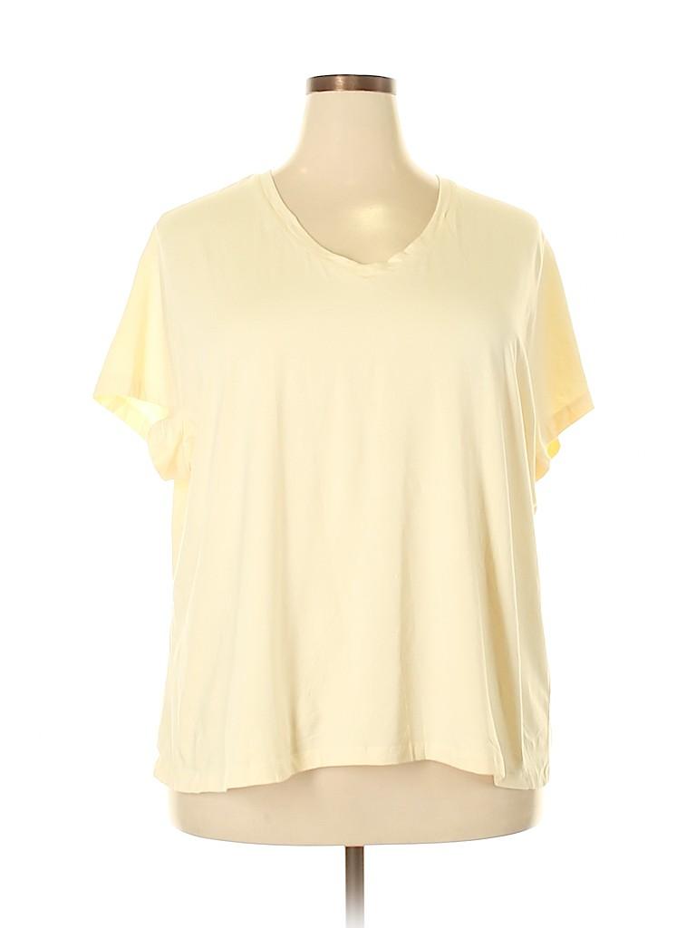 Mossimo Women Short Sleeve T-Shirt Size 3X (Plus)