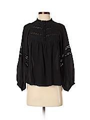 Ulla Johnson Long Sleeve Silk Top