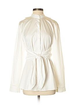 Tibi Long Sleeve Button-Down Shirt Size 4