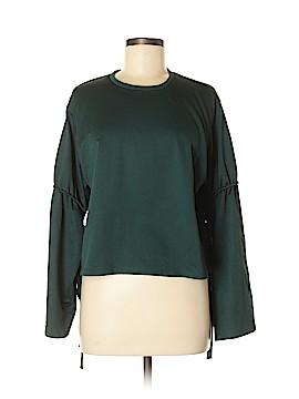 Zara TRF Long Sleeve Blouse Size M