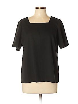 Joan Rivers Short Sleeve Top Size L