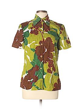 Trina Turk Short Sleeve Button-Down Shirt Size 12