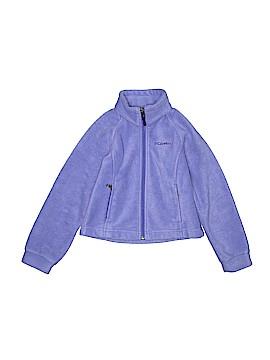 Columbia Fleece Jacket Size 4-5