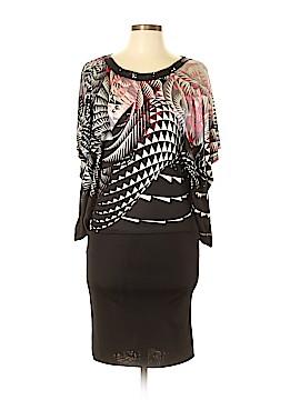 Custo Barcelona Casual Dress Size Lg (4)