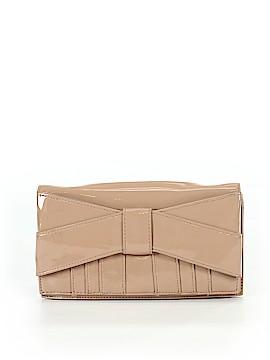 Z Spoke by Zac Posen Leather Clutch One Size