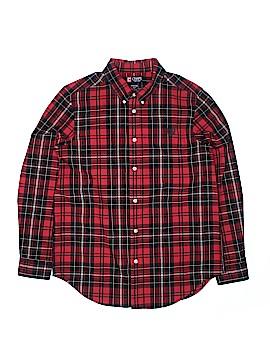 Chaps Long Sleeve Button-Down Shirt Size 18-20