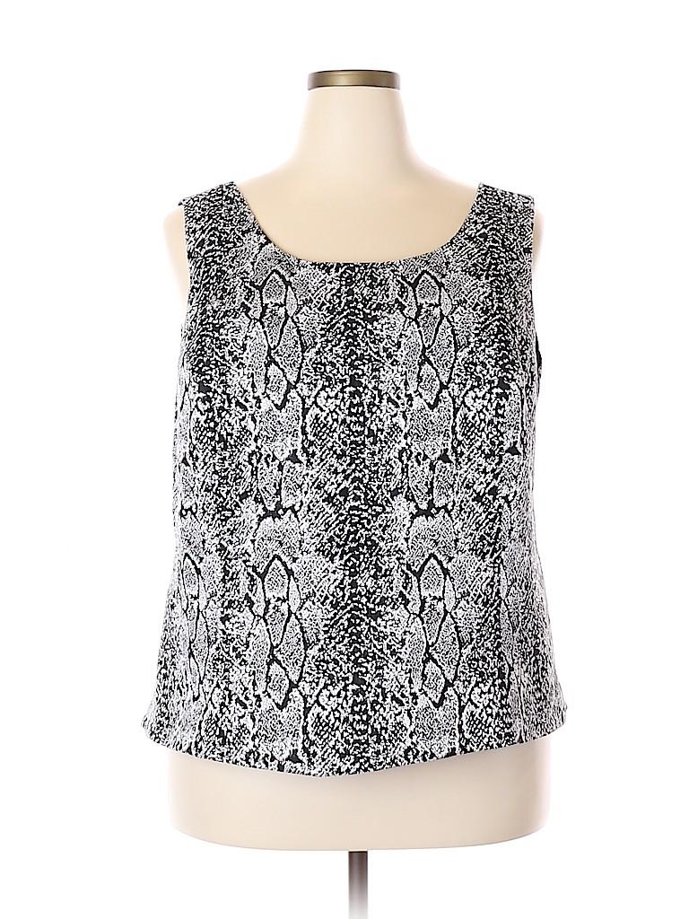 Jones Studio Women Sleeveless Blouse Size 20 (Plus)