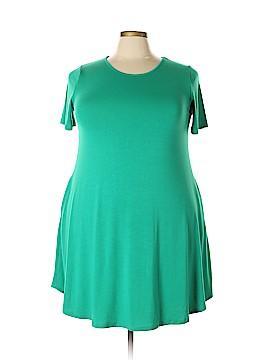 Zenana Outfitters Casual Dress Size 1X (Plus)