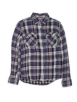 Converse One Star Long Sleeve Button-Down Shirt Size S (Kids)