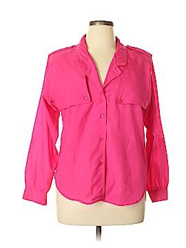 Diane von Furstenberg Long Sleeve Blouse Size 14