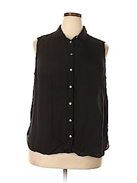 H&M Sleeveless Blouse Size 18 (Plus)