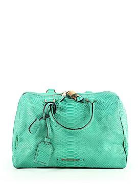 Emporio Armani Leather Satchel One Size