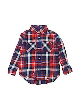 Chaps Long Sleeve Button-Down Shirt Size 3T