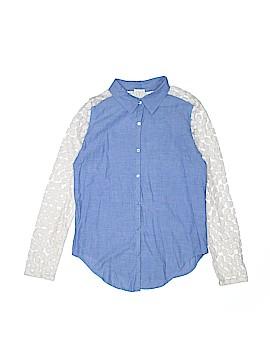 Ella Moss Long Sleeve Button-Down Shirt Size 12
