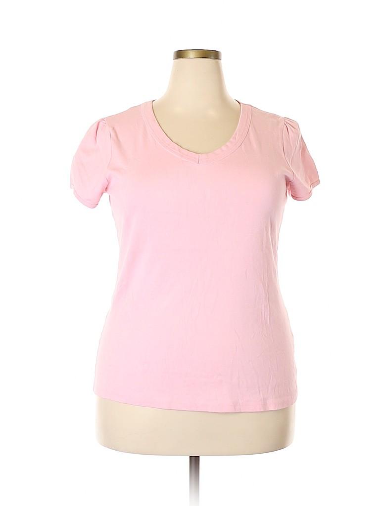 Basix Women Short Sleeve Top Size 20 (Plus)