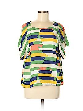 Maeve Short Sleeve Blouse Size S