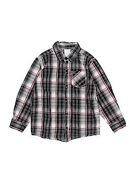 WonderKids Long Sleeve Button-Down Shirt Size 5T