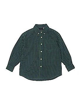 Gap Long Sleeve Button-Down Shirt Size S (Kids)