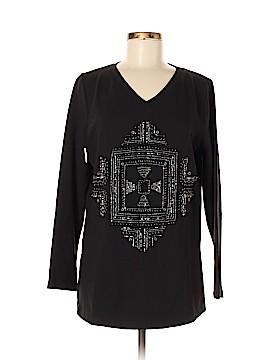 Susan Graver Long Sleeve T-Shirt Size M