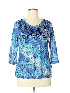Vintage Suzie 3/4 Sleeve T-Shirt Size XL
