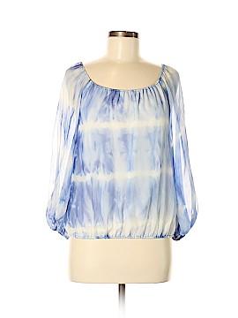 Alice + olivia Long Sleeve Silk Top Size M