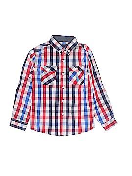 U.S. Polo Assn. Long Sleeve Button-Down Shirt Size 5