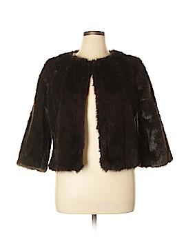 WD.NY Faux Fur Jacket Size XL