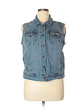 Max Jeans Denim Vest Size XL