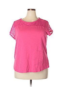 Liz Claiborne Short Sleeve Top Size XXL
