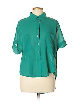 Jack. Short Sleeve Blouse Size L