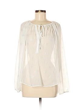Jennifer Lopez Long Sleeve Blouse Size M