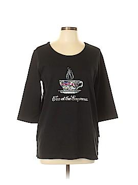 CHRISTINE ALEXANDER 3/4 Sleeve T-Shirt Size L