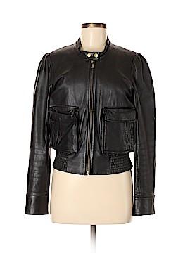 Moda International Leather Jacket Size M