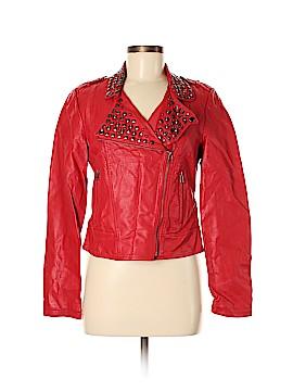 XXI Faux Leather Jacket Size M