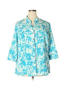 Kathy Che 3/4 Sleeve Blouse Size 18 - 20 (Plus)