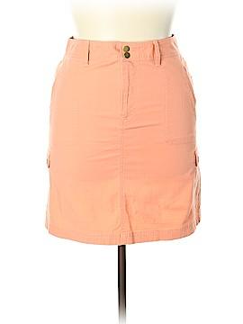 L.L.Bean Denim Skirt Size 10