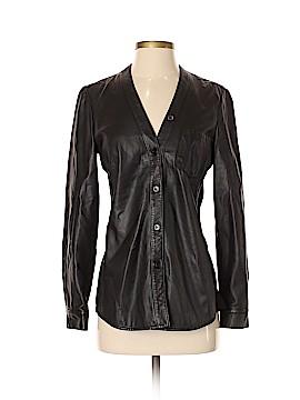 DKNY Leather Jacket Size S