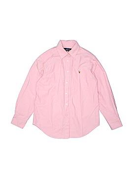 Polo by Ralph Lauren Long Sleeve Button-Down Shirt Size 10